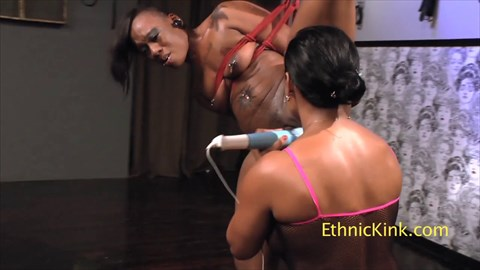 Strung Up & Orgasmed to Exhaustion Bound Orgasms Lesbian BDSM