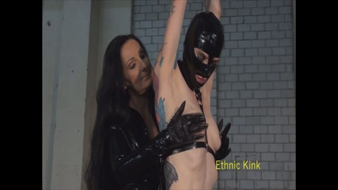 Lady Luciana Teases Her Latex Slut Bound Orgasms Female Domination Tease & Denial