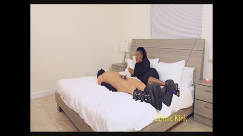 Jet Set Jasmin Waxes Your Cock and Balls Wax Play Fem Dom CBT