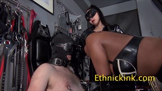 Slut Worships Two Mistresses