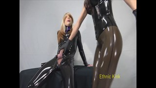 Miss Suzie Edges the Rubber Sissy