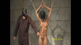 Barbaras Baby Oil Dungeon Tickle