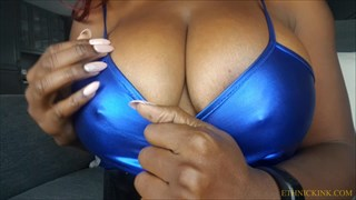 Breast Worship Tease with Miss Foxx